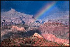 Grand Canyon Rainbow (enlightphoto) Tags: above park blue arizona sunlight southwest west nature rain weather rock point landscape outside rainbow scenery rocks flickr glow view natural outdoor south arc scenic rocky atmosphere grand scene canyon cliffs erosion formation explore national western land vista environment geology grandview rim distance climate atmospheric rugged southwestern distant eroded geological classique holidaysvacanzeurlaub garycrabbe enlightenedimages enlightphotocom