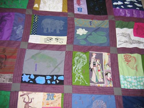 Big picture of quilt progress