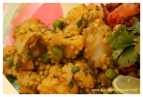 Sorghum Cauliflower Potato Curry Recipe