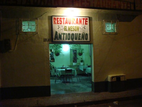 My good eatery in Sincelejo, Colombia.