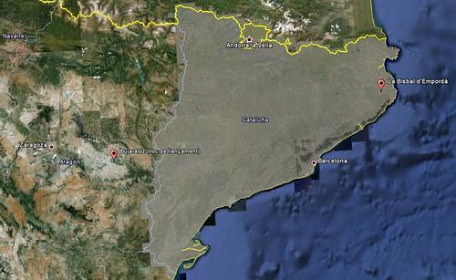 Situacions: d'on som i on està previst el llançament