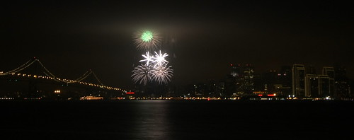 2009 New Year Fireworks, San Francisco