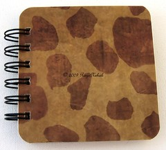 Animal Print Post It Holder