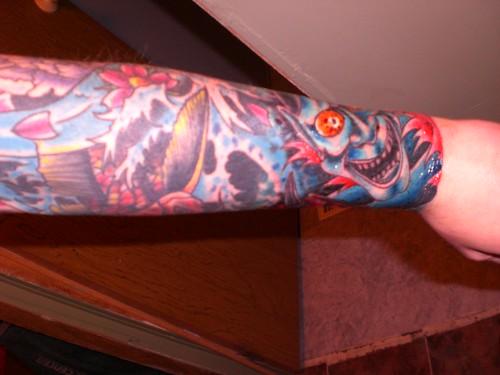 jennyruns  hannya mask tattoos