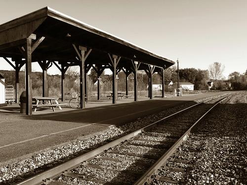 Vt. Train Station