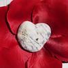 Coeur sur coeur (valkiribocou) Tags: red france love stone rouge lumix heart pierre coeur valentine amour valentin valentinesday 1000views stvalentin valkiribocou panasonicdmctz5