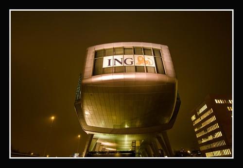 ING house van achteren