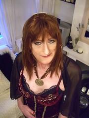 CIMG3366 (Julie Bracken) Tags: old red portrait fashion hair tv cd mini skirt crossdressing tgirl transgender mature tranny transvestite crossdresser crossdress kinky tg trannie mtf m2f feminized enfemme xdresser tgurl feminised transsister julieb85