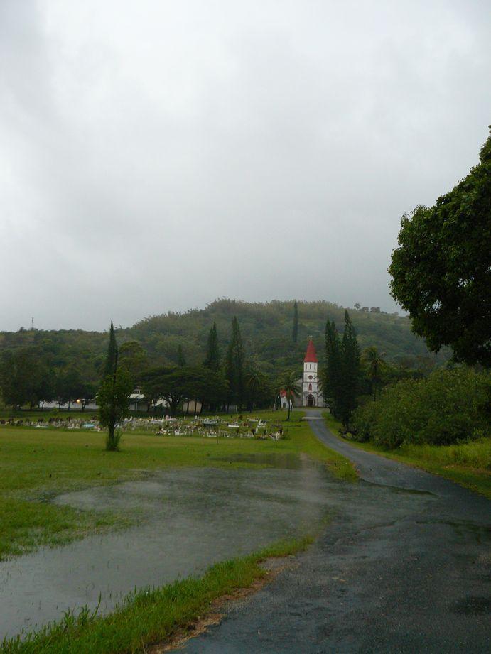 Depression tropicale fevrier 2009 Poindimie #9: Inondation à Tyé