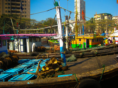 Fish Market in Bombay