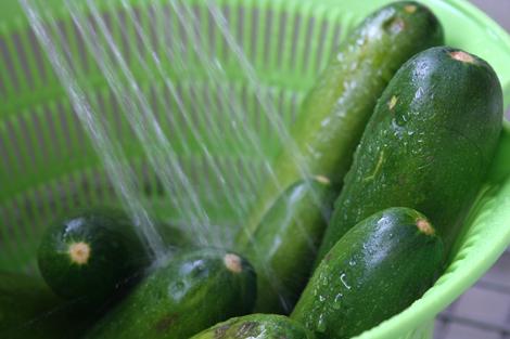 zucchini shower