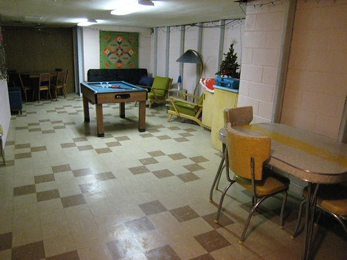 Basement Rec Area