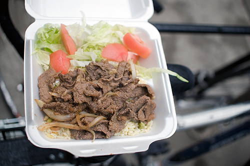 Downtown Lunch: Korean BBQ Cart