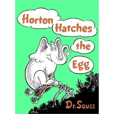 #74: Horton Hatches the Egg by Dr. Seuss (1940) 18 points (#2, #8, #5)