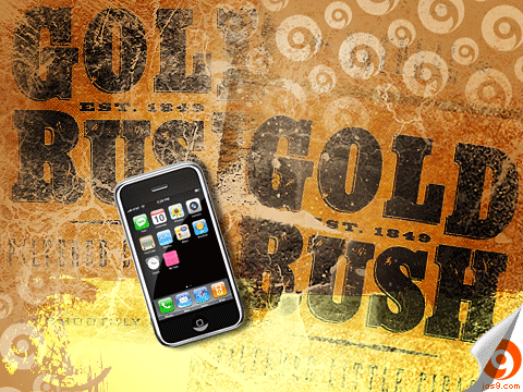 iPhone Gold Rush