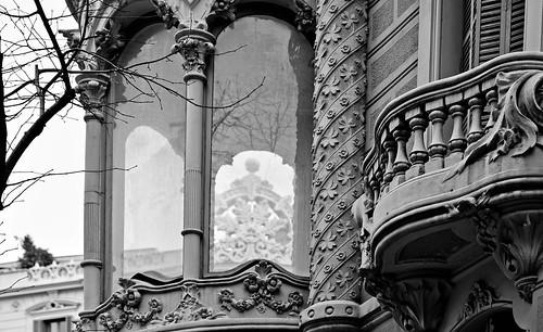 Balcon del Eixample. Barcelona.