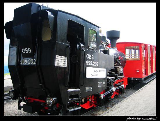 薩爾茲堡湖區 ~ 登山小火車