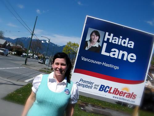 Haida Lane - Vancouver-Hastings