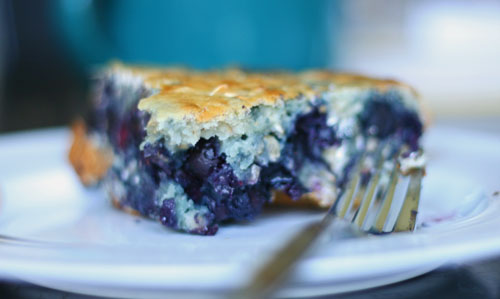 Kid-Friendly Breakfast Blueberry Cake Recipe