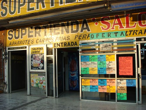 Supertienda in Cerro Azul, Mexico.