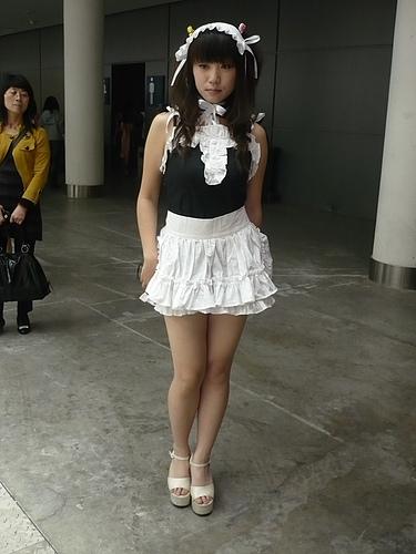 西安cosplay性感女仆