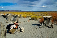Jeff Sullivan Shoots Sand Tufa at Mono Lake, California (Bill Wight CA) Tags: monolake abigfave platinumphoto jeffsullivan billwight mountainhighworkshops
