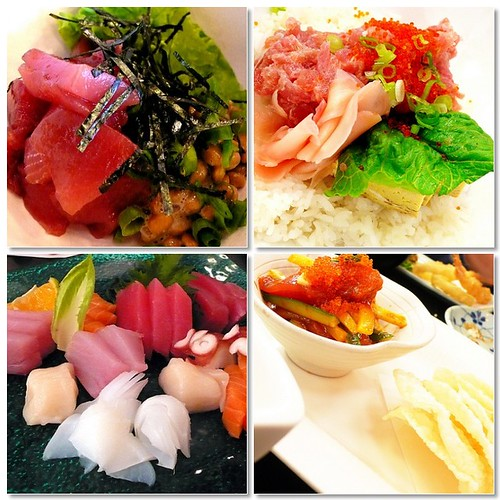 benii poki + sashimi