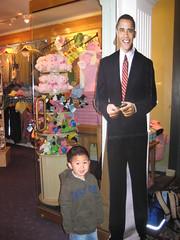 Owen and President Obama