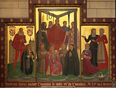 Martyrs of England & Wales under the Tyburn Tree (Lawrence OP) Tags: england london wales catholic martyrs stjames tryptich noose tyburn gallows reformation reredos englishmartyrs spanishplace