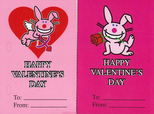 Happy Bunny Valentine Cards