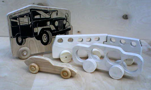 make your own wooden toy cars