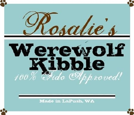 Twilight Werewolf Kibble Recipe Labels