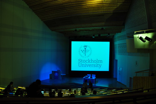 Universidad de Estocolmo, Aula magna by plexycolor, on Flickr