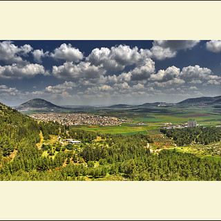 Mt. Tabor and the Izrael valley