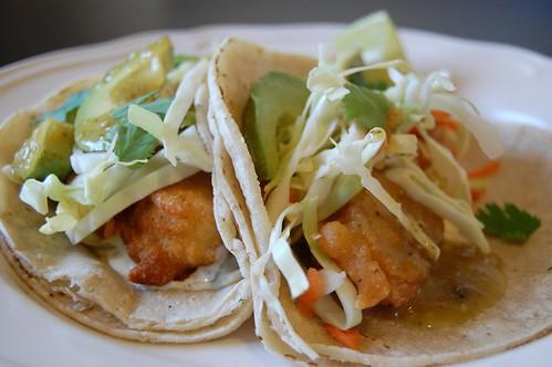 Baja Style Tacos
