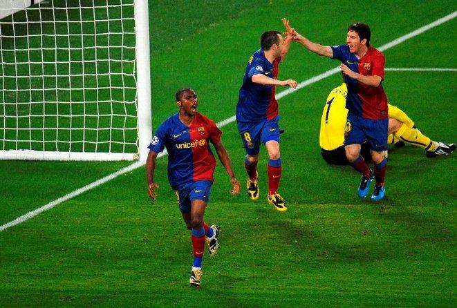 Gol de Messi Barcelona Manchester 2 0