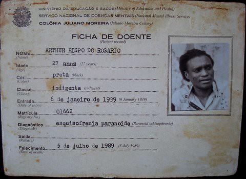 Arthur Bispo do Rosário - dados / data