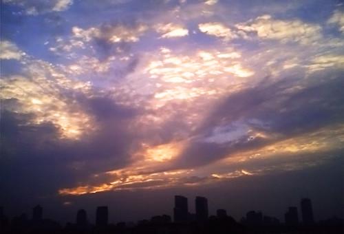 城墙上的天空