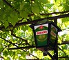 Perfect summer afternoon (DurhamDundee) Tags: summer beer lamp hungary grapevine borsodi 157365 2009inphotos