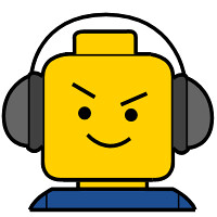Lego headphones custom minifig