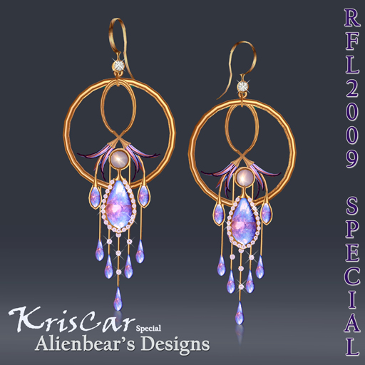 RFL2009 KrisCar gold earrings special