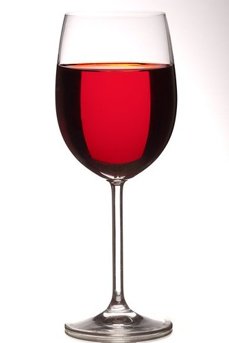 Wine glass (bright field)