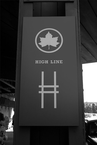 High Line sign
