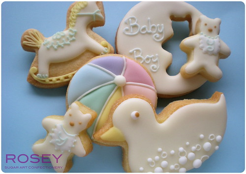 Baby Shower Cookies June 2009 -2