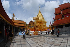 The inner square of Wat Doi Suthep