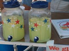 Free lemonade at Beechmont Farmer's Market, Louisville