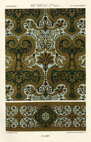 024-Ornamentos policromados siglo XVII-Das polychrome Ornament…1875
