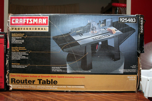Craftsman Router Table 925483