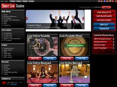 Smart Live Casino Lobby