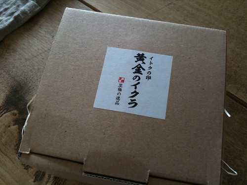 堀江貴文さんの [至極の逸品] 山女魚の卵 「黄金のイクラ」1